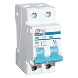 Автоматический выключатель Энергия ВА 47-29 2P 10A / Е0301-0112
